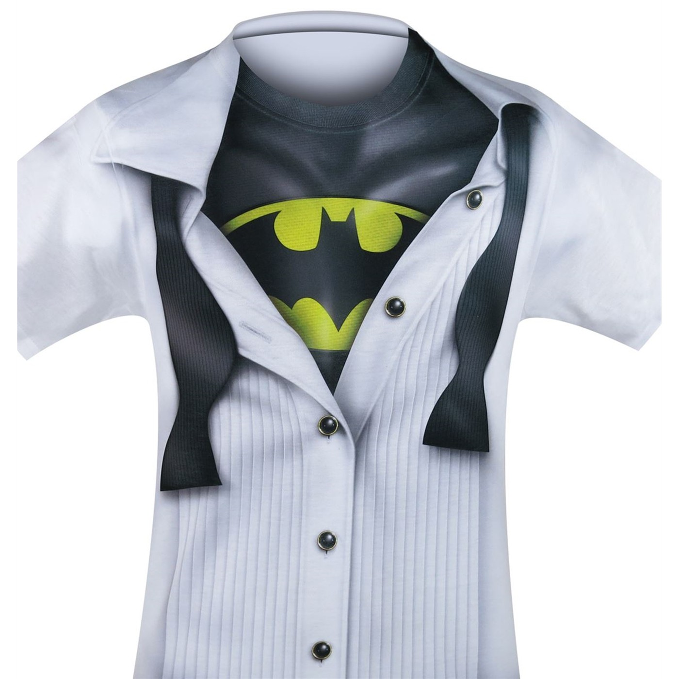 Batman Tuxedo Costume Reveal Sublimated T-Shirt