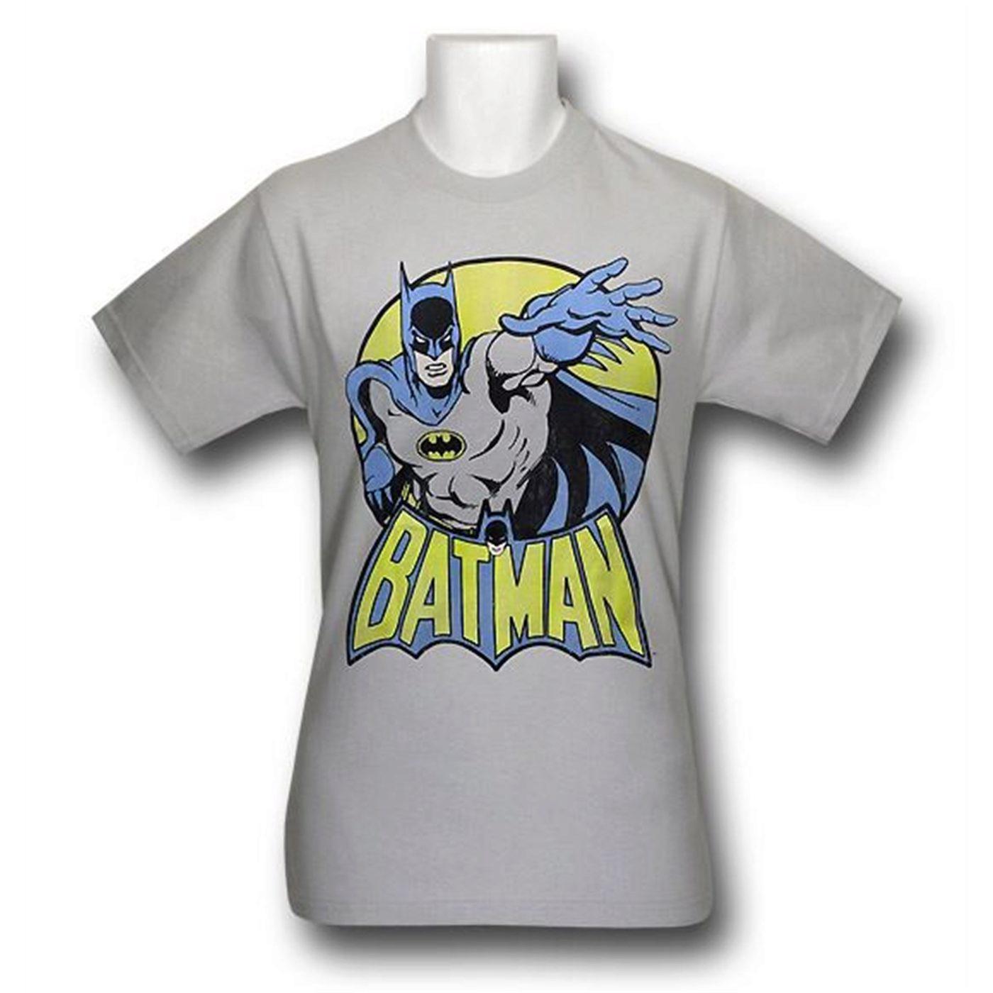Batman Classic Circle Kids T-Shirt