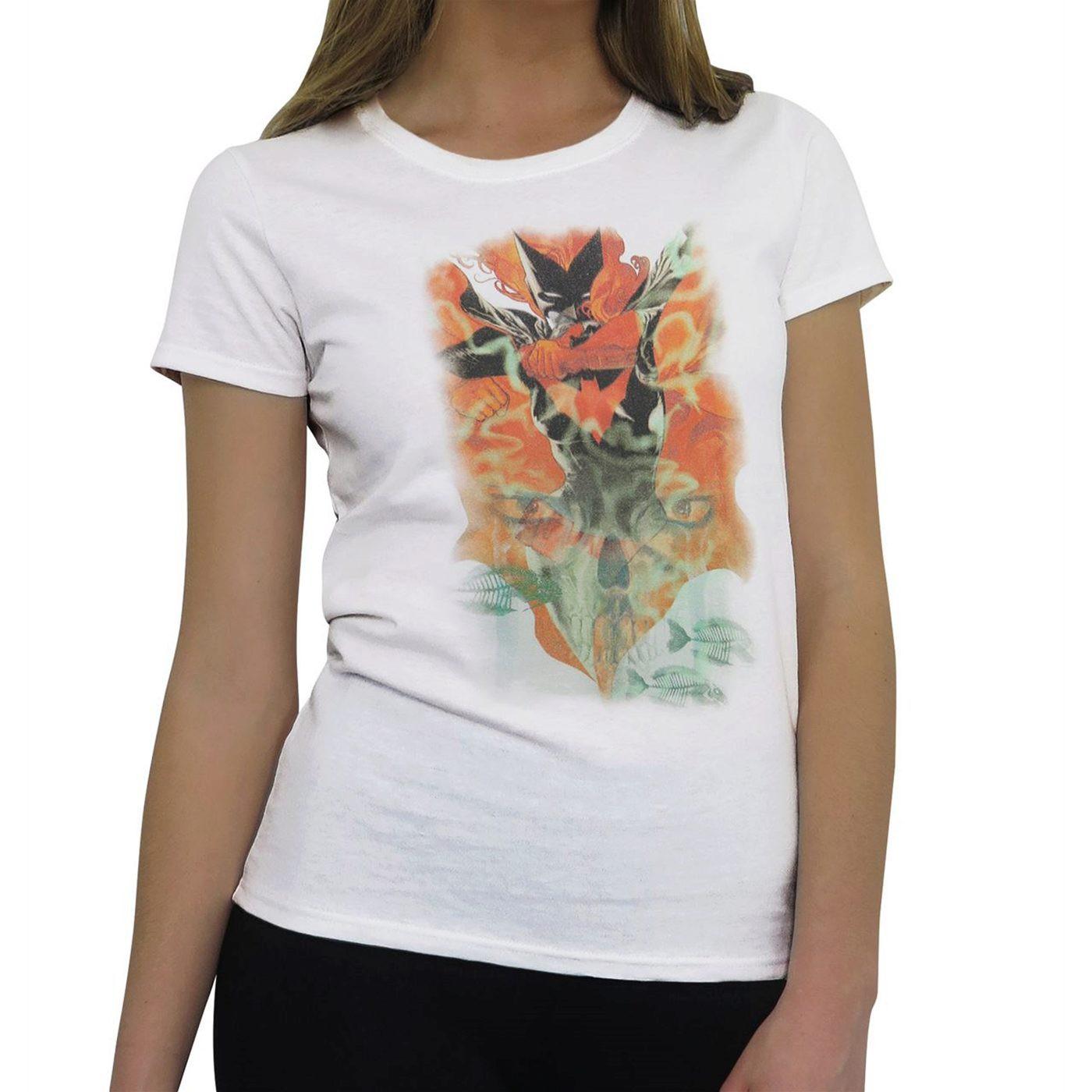 Batwoman New 52 #1 Jr Women's T-Shirt