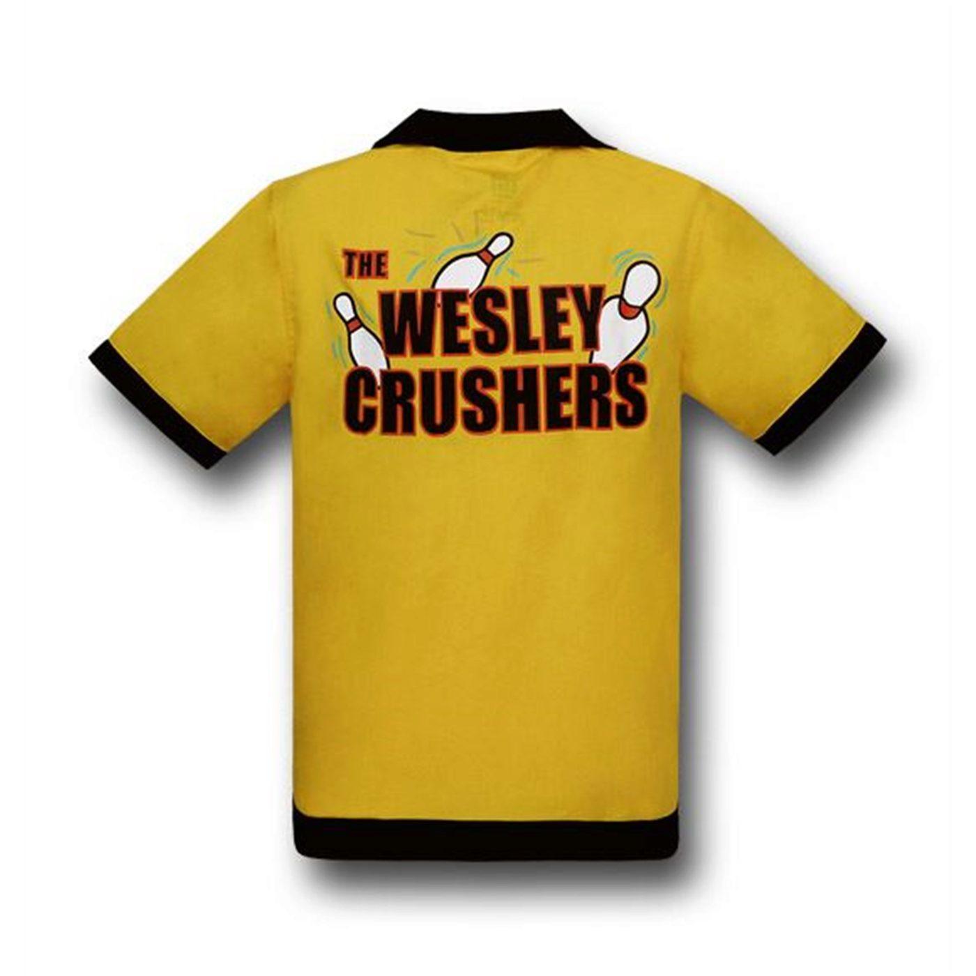 Big Bang Theory Wesley Crushers Bowling Shirt