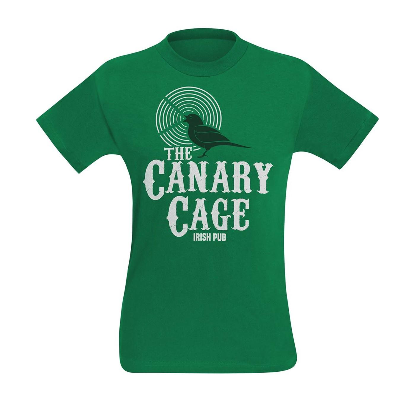 The Canary Cage Irish Pub Men's T-Shirt