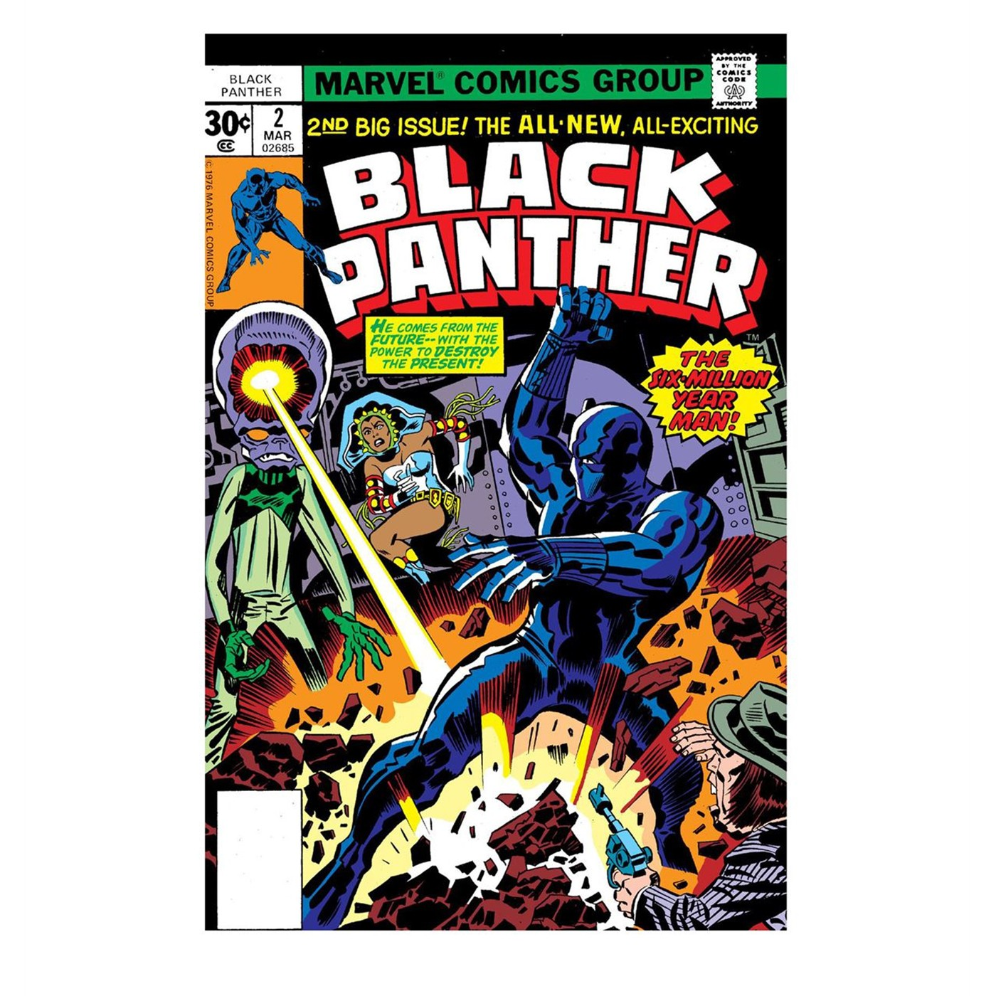 Black Panther 2nd Big Issue Men's T-Shirt
