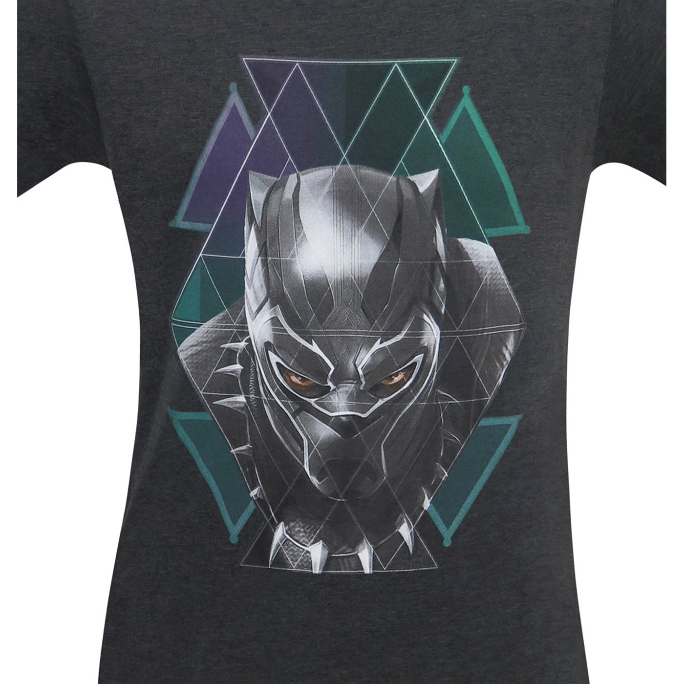 Black Panther Tribal Geometrics Men's T-Shirt