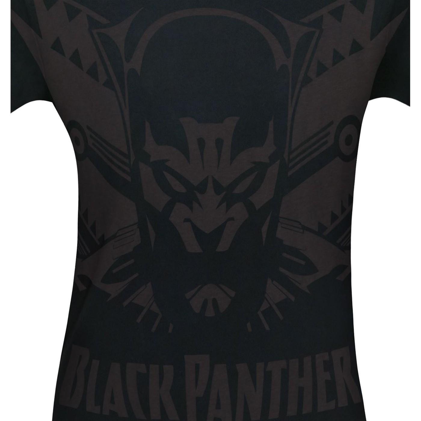 Black Panther Shadow Cat Men's T-Shirt