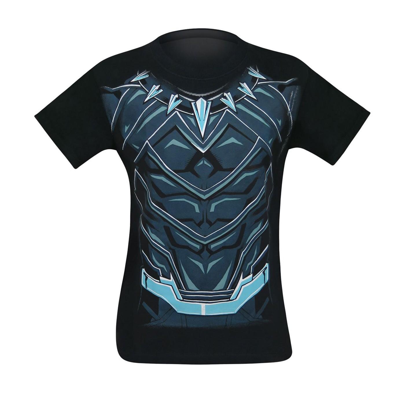 Black Panther Suit-Up Men's Costume T-Shirt