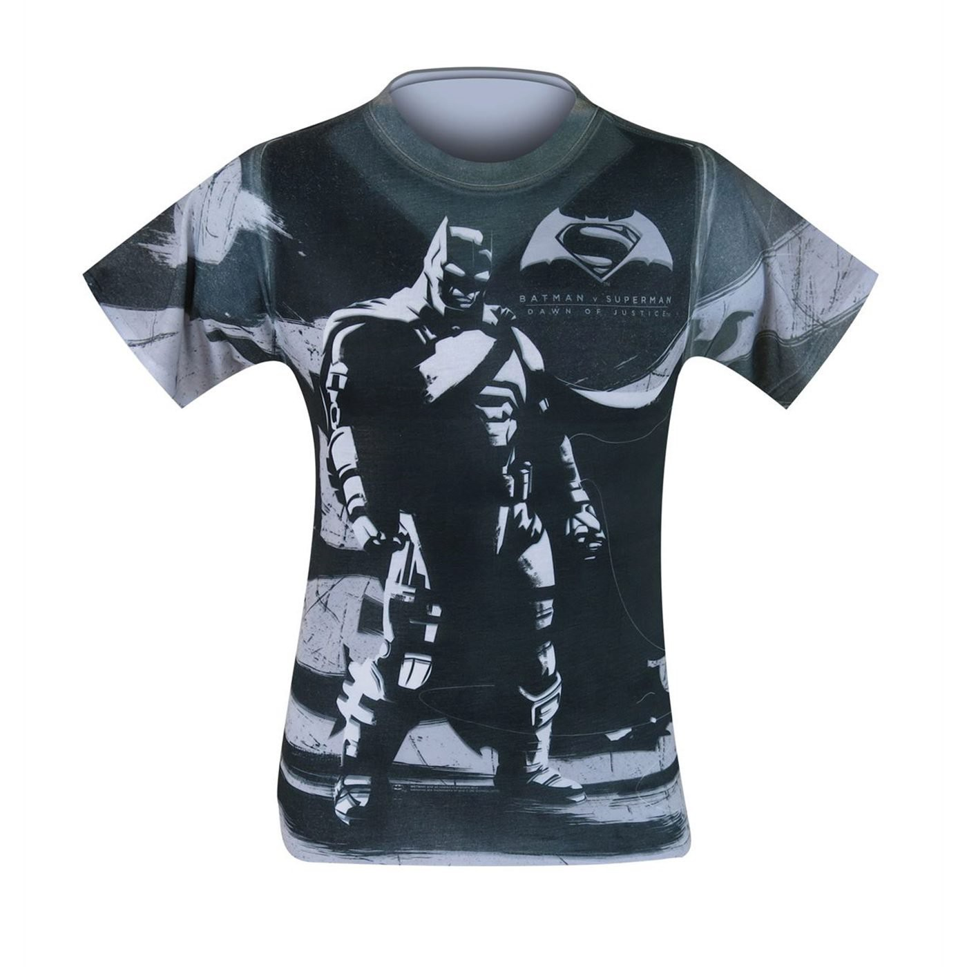 Batman Vs Superman Batman Contrast Sublimated T-Shirt