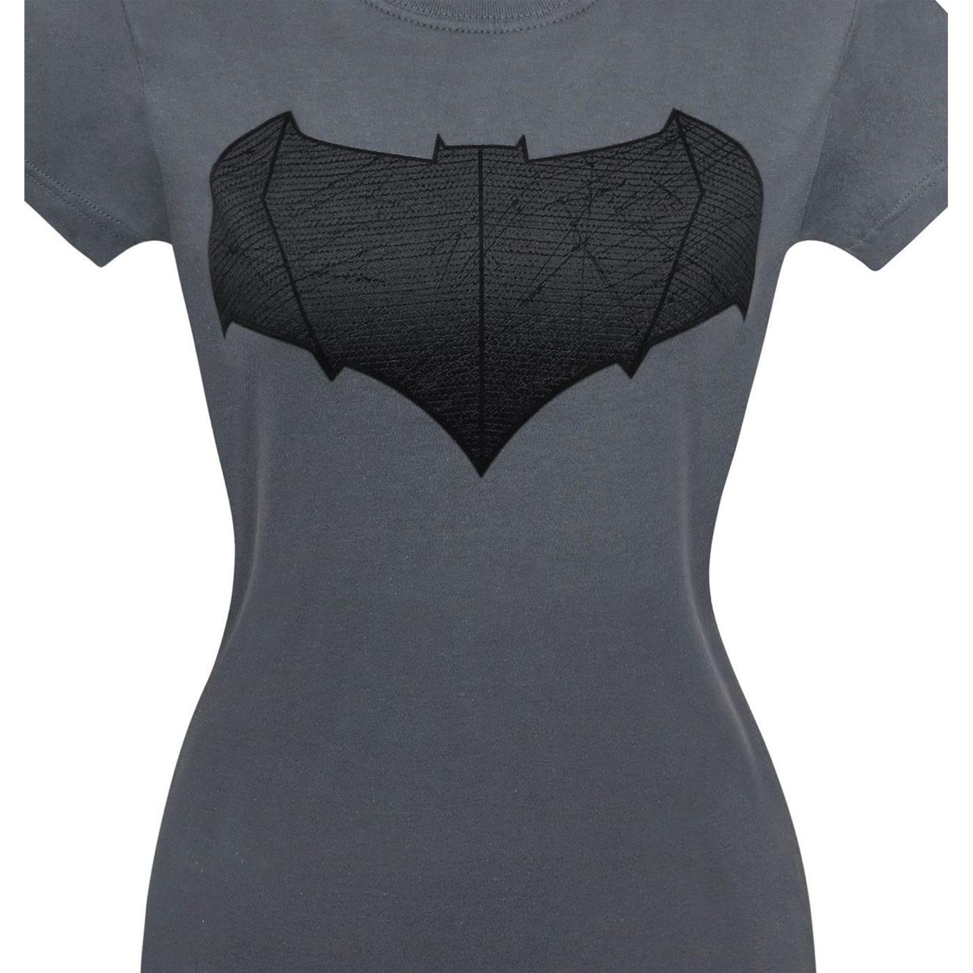 Batman Vs Superman Batman Symbol Women's T-Shirt
