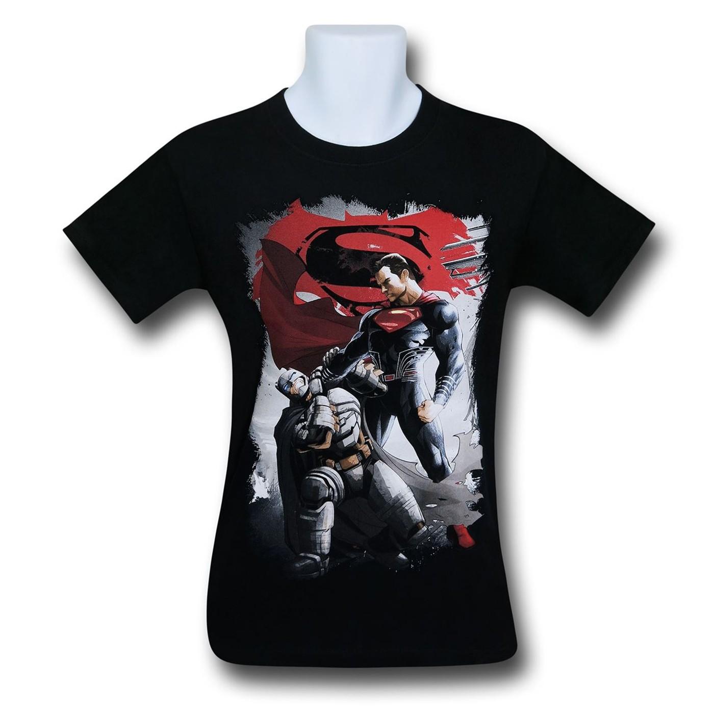 Batman Vs Superman Choke T-Shirt