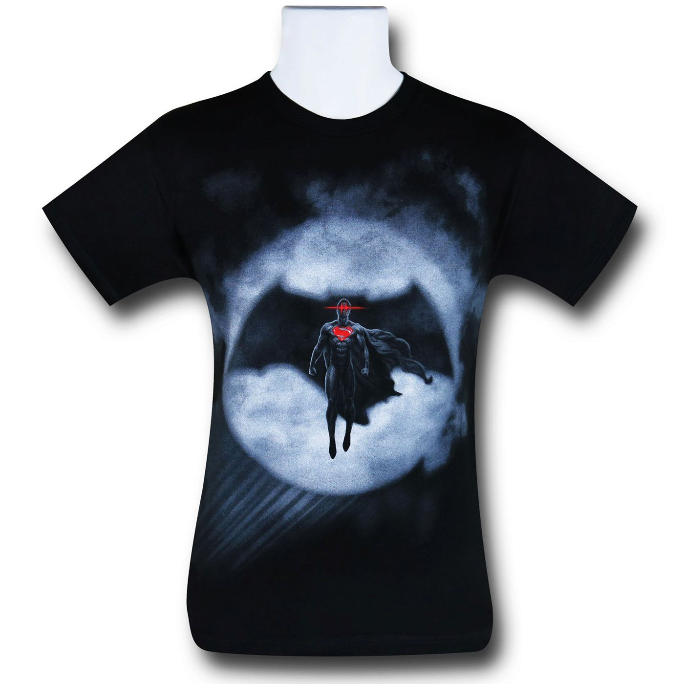 Batman Vs Superman Signal Silhouette T-Shirt