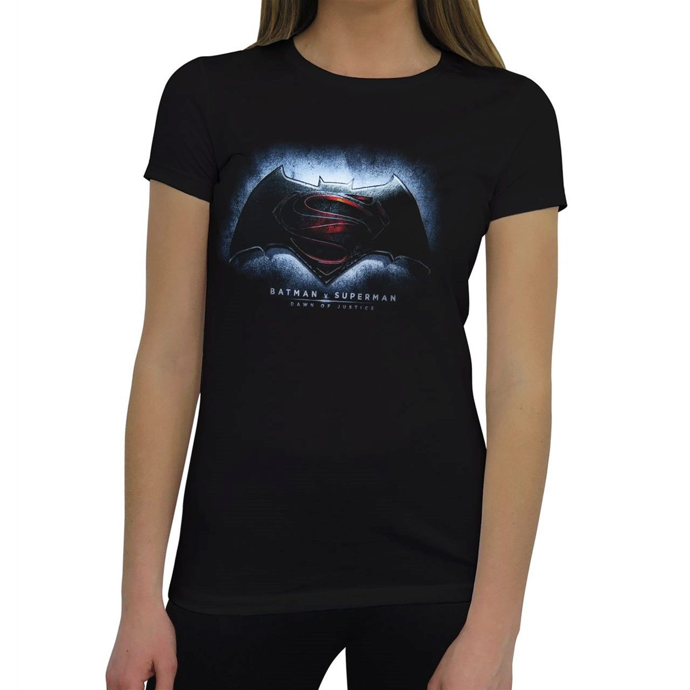 Batman Vs Superman Symbol Women's T-Shirt
