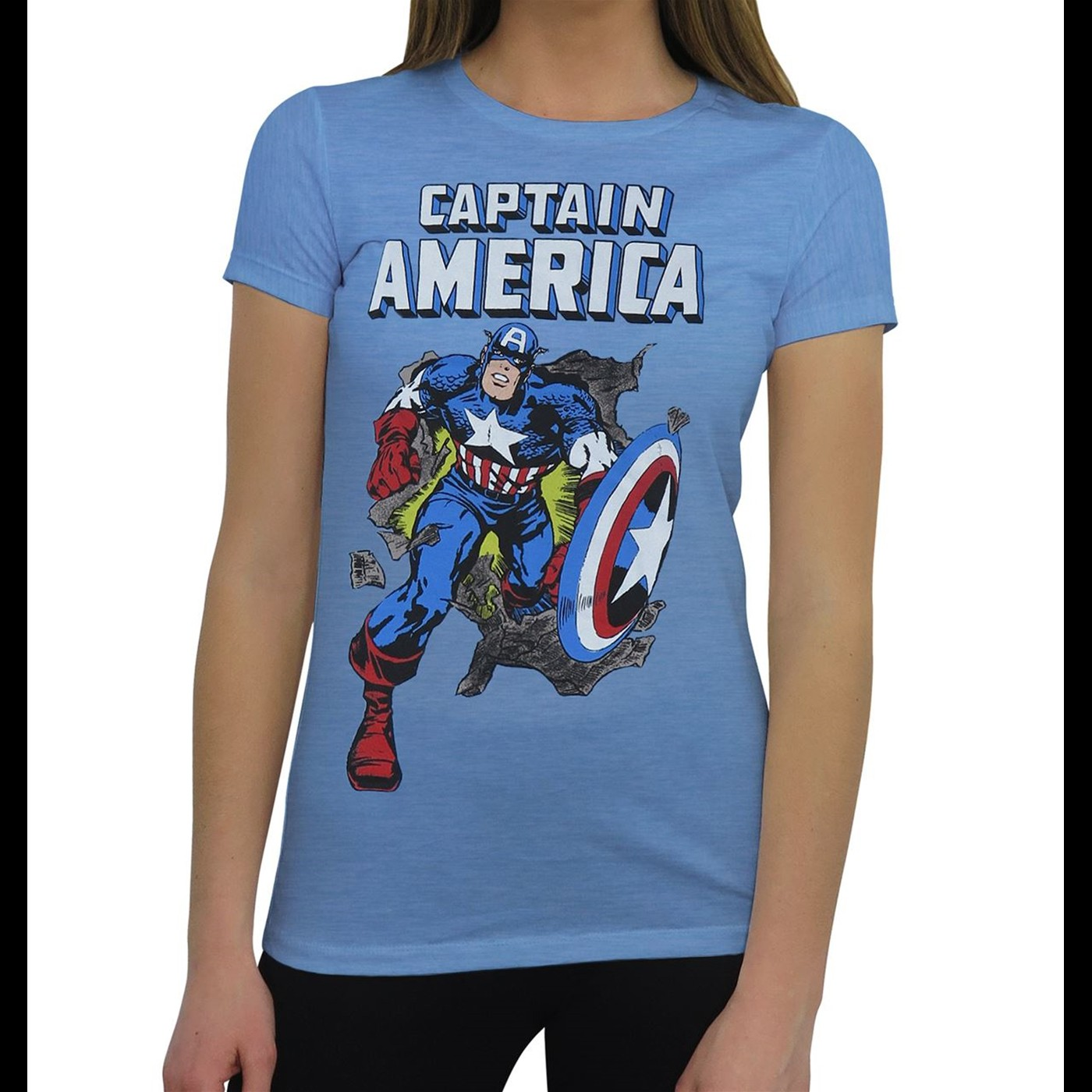 Captain America Breakout Women's T-Shirt