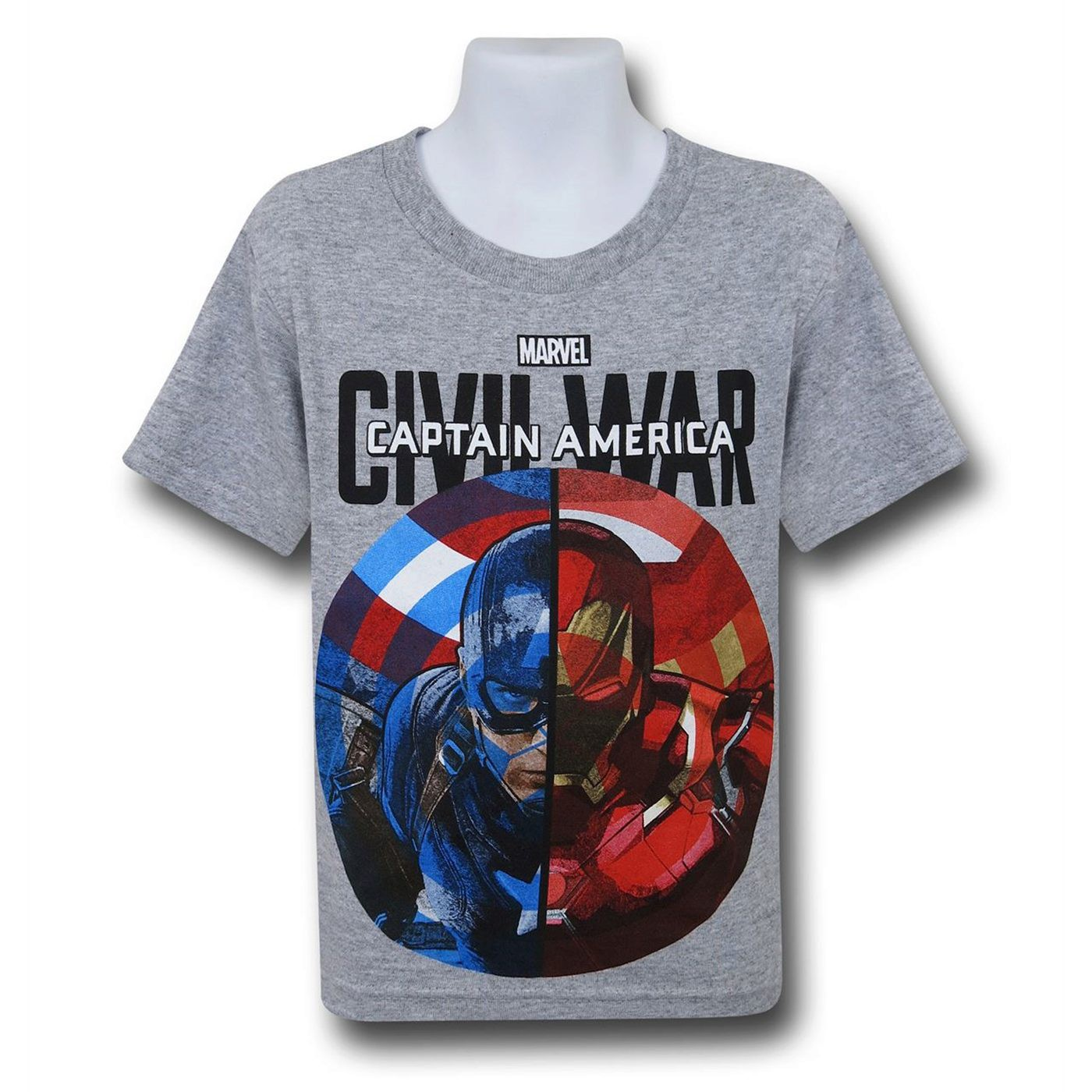 Captain America Civil War Duo Kids T-Shirt