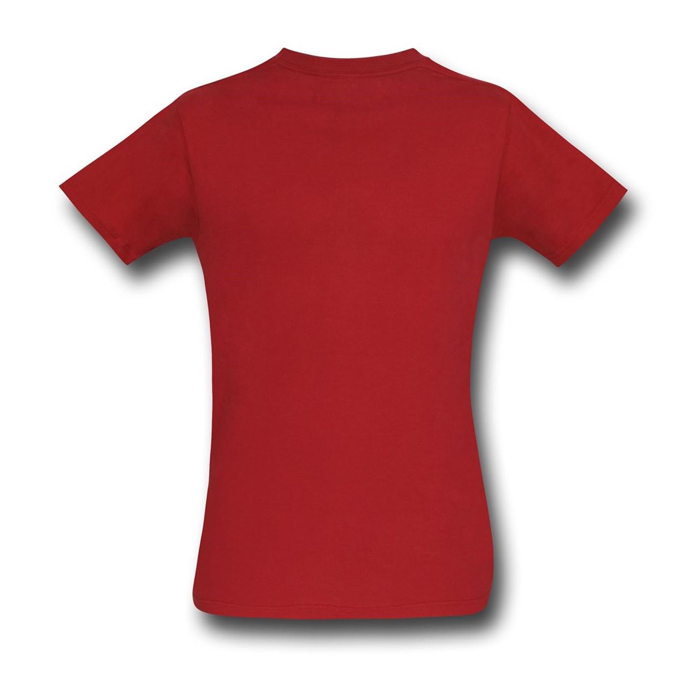 Captain America Civil War Iron Man Costume T-Shirt