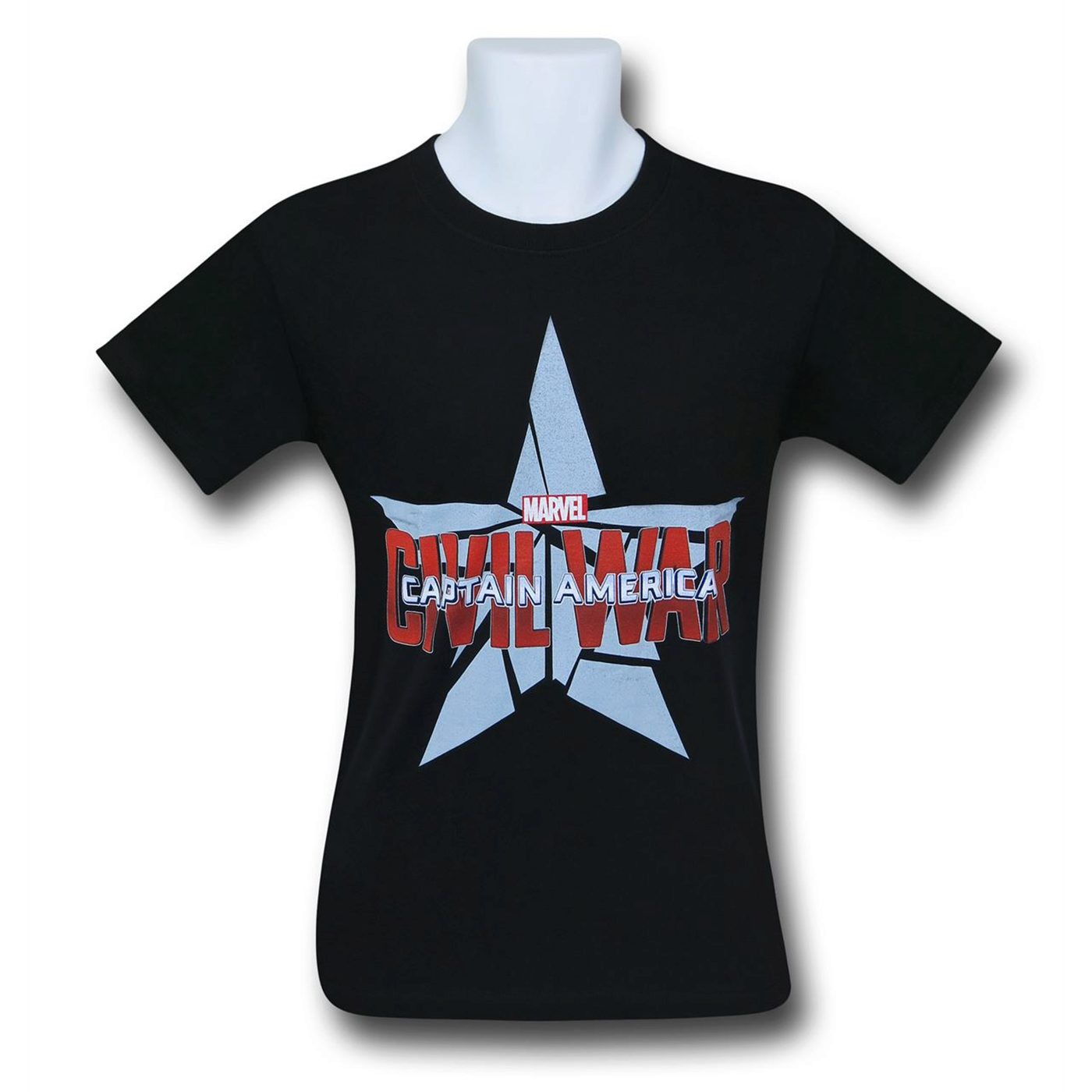 Captain America Civil War Logo T-Shirt