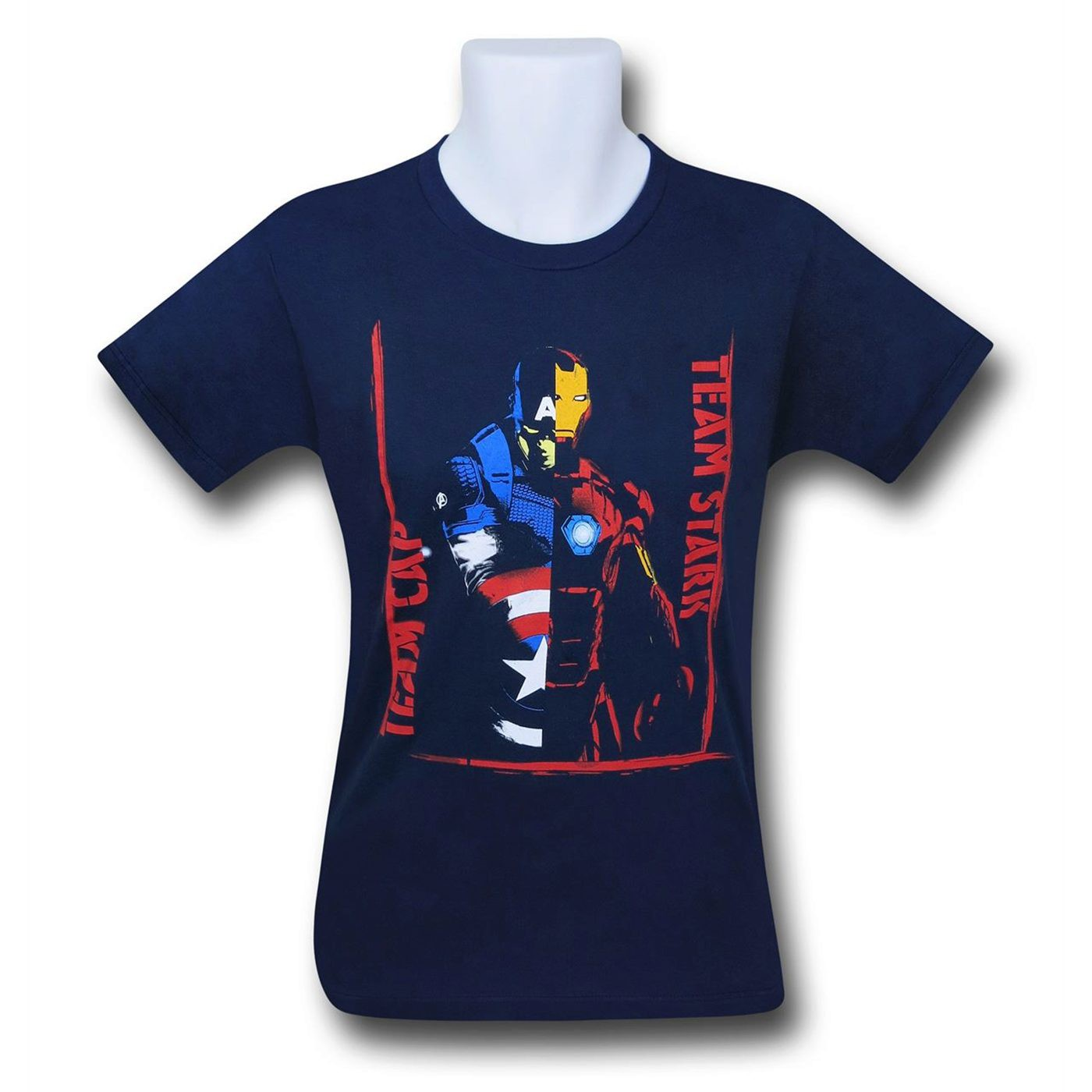 Captain America Civil War Kids Team Versus T-Shirt