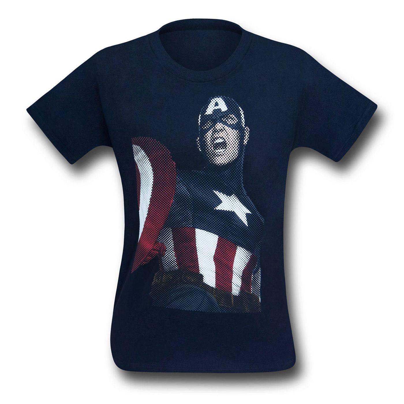 Captain America Sigiled Servant Youth T-Shirt