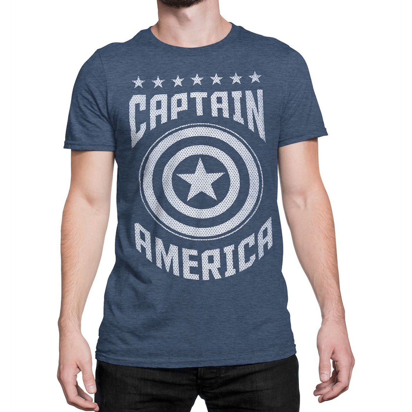 Captain America Varsity Men's T-Shirt