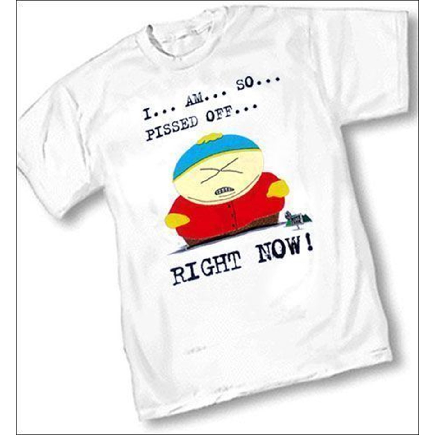 Southpark Cartman Pissed Off T-shirt
