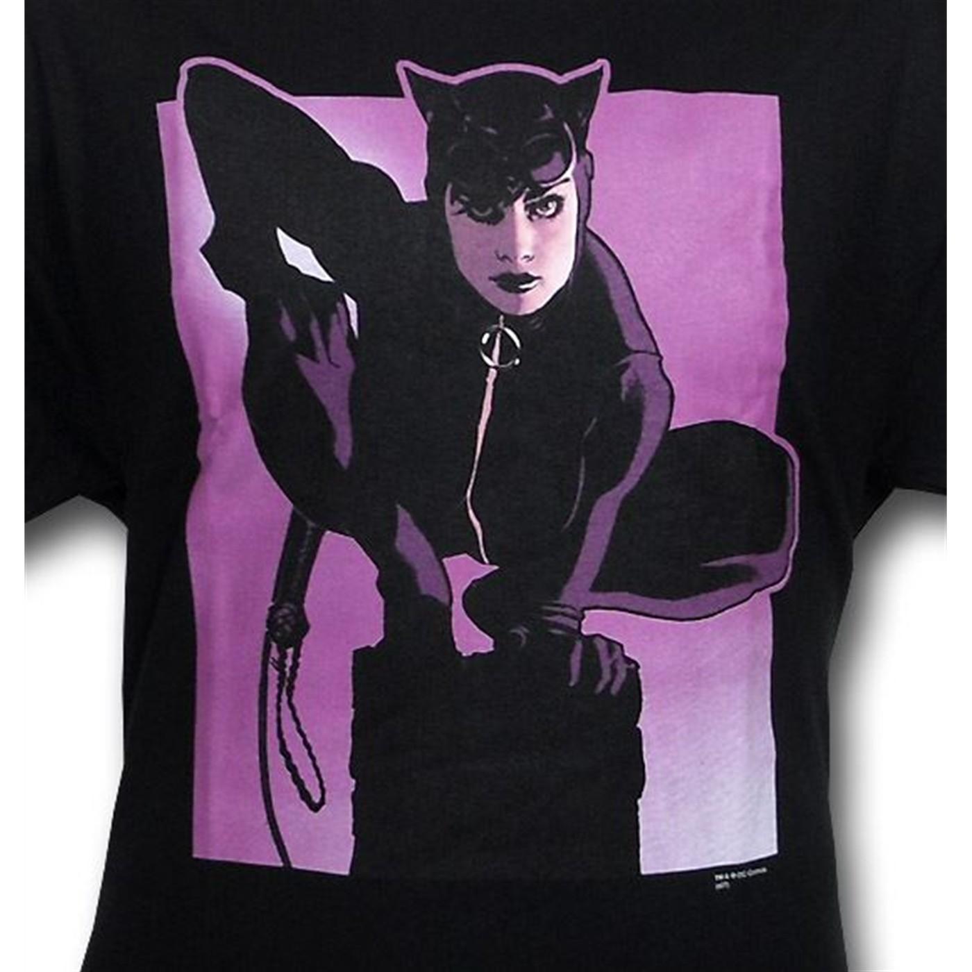 Catwoman Pedestal T-Shirt by Adam Hughes