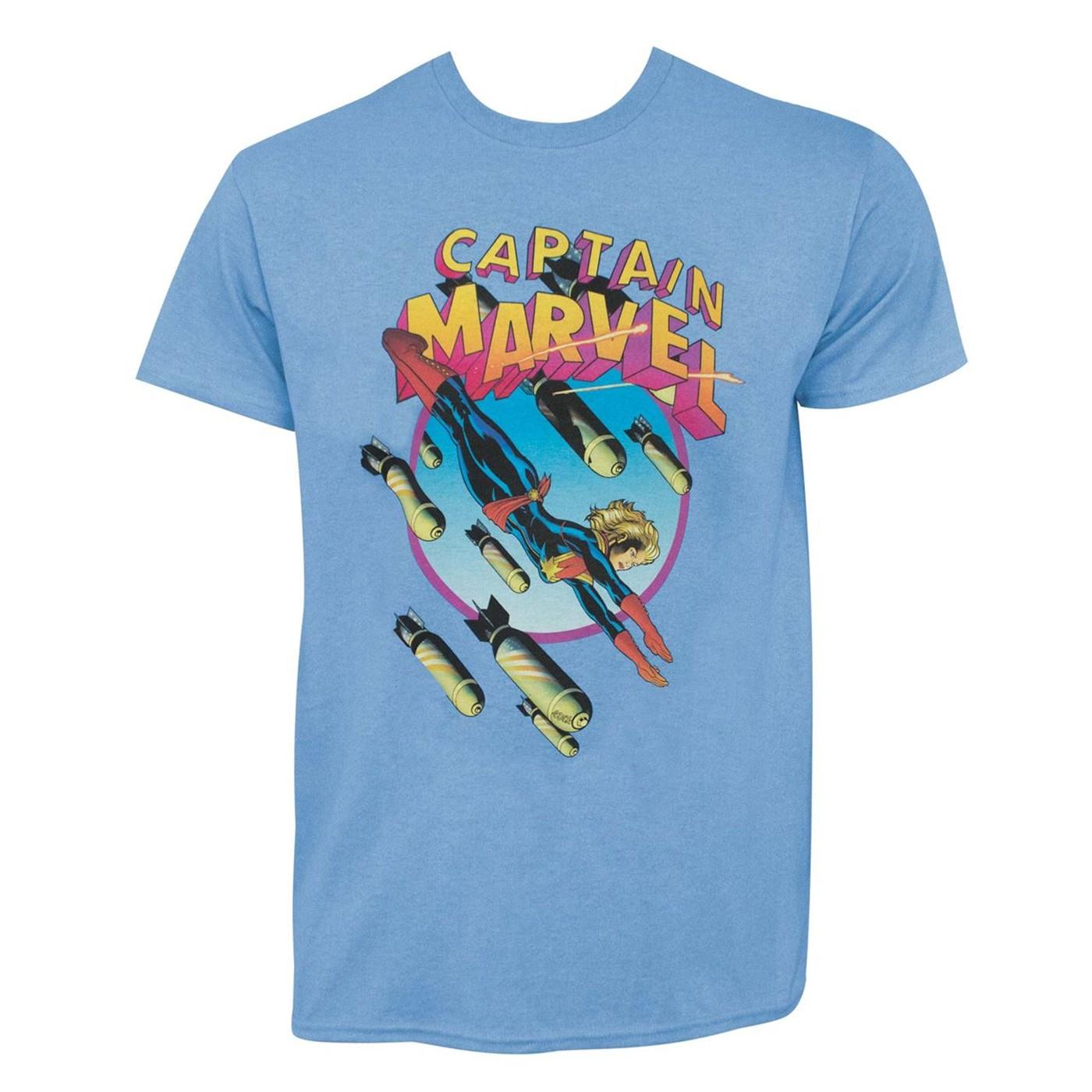 Captain Marvel Earth's Mightiest Hero #3 Men's T-Shirt