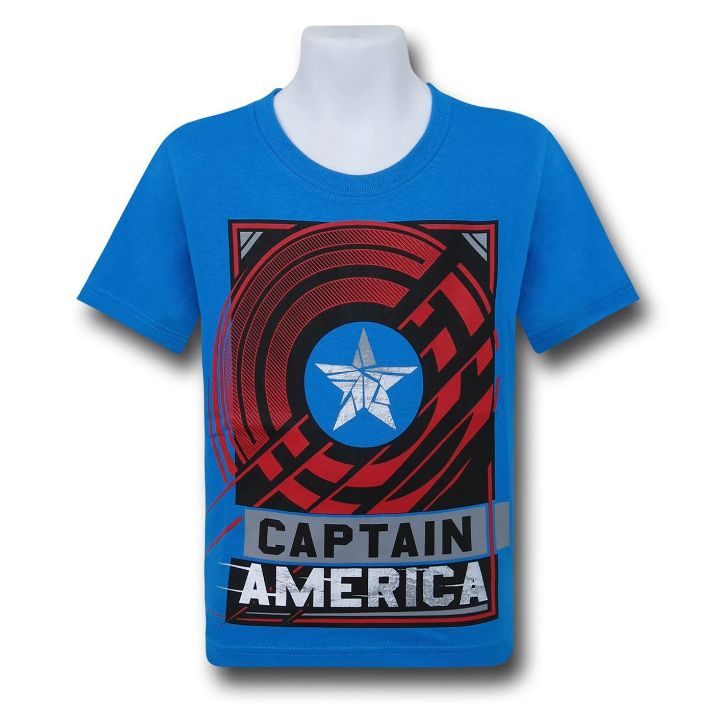 Captain America Civil War America Shield Kids T-Shirt