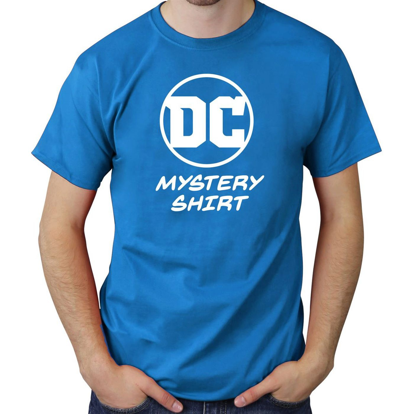 DC Comics Men's Mystery T-Shirt