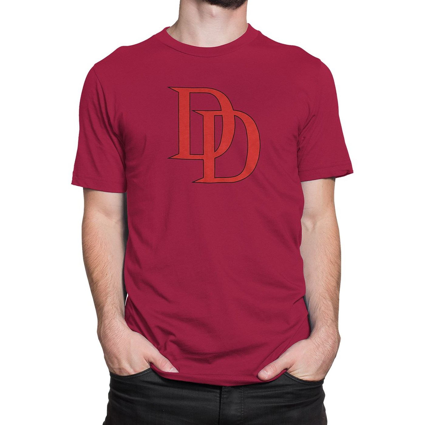 Daredevil Red Logo 30 Single T-Shirt