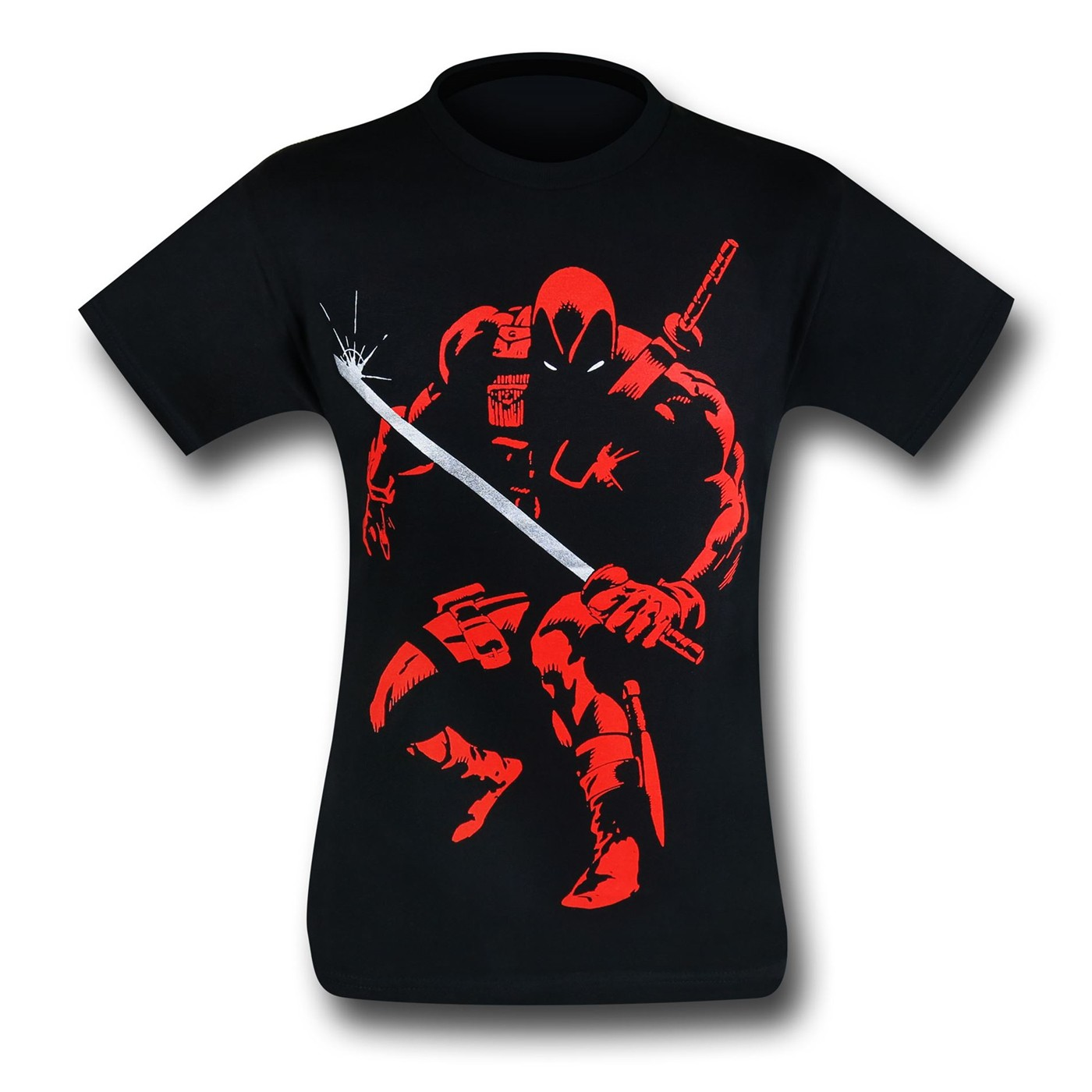 Deadpool Red Outline T-Shirt