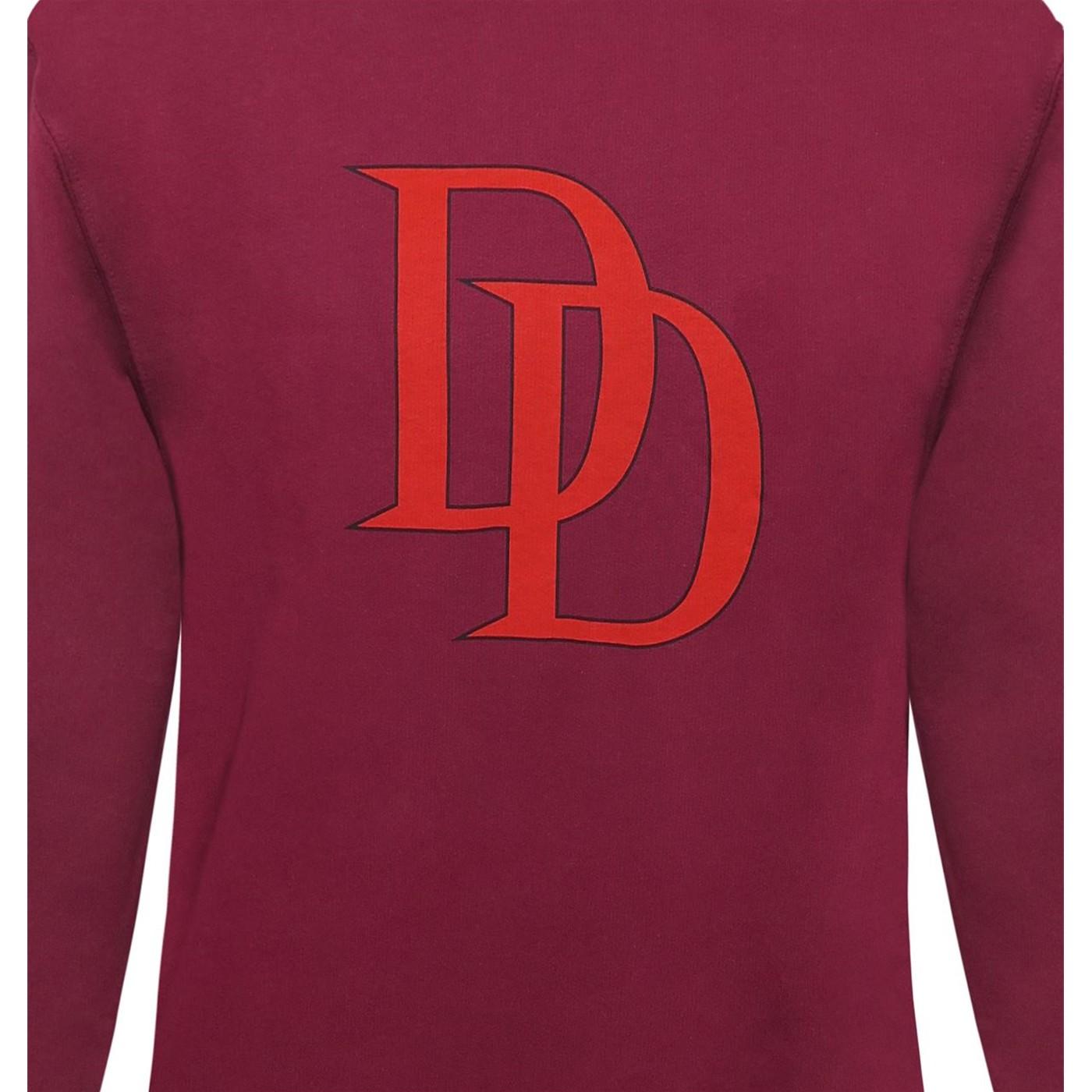 Daredevil Symbol Men's Sweatshirt