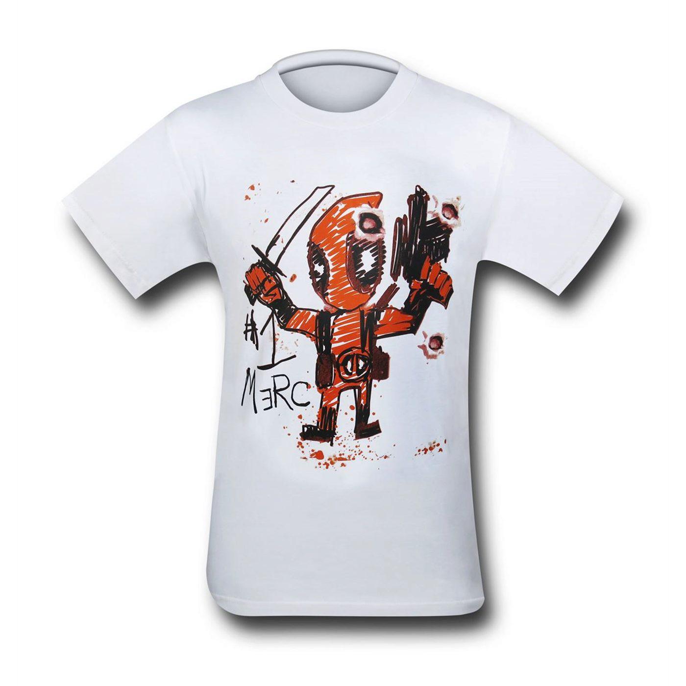 Deadpool #1 Merc Men's T-Shirt