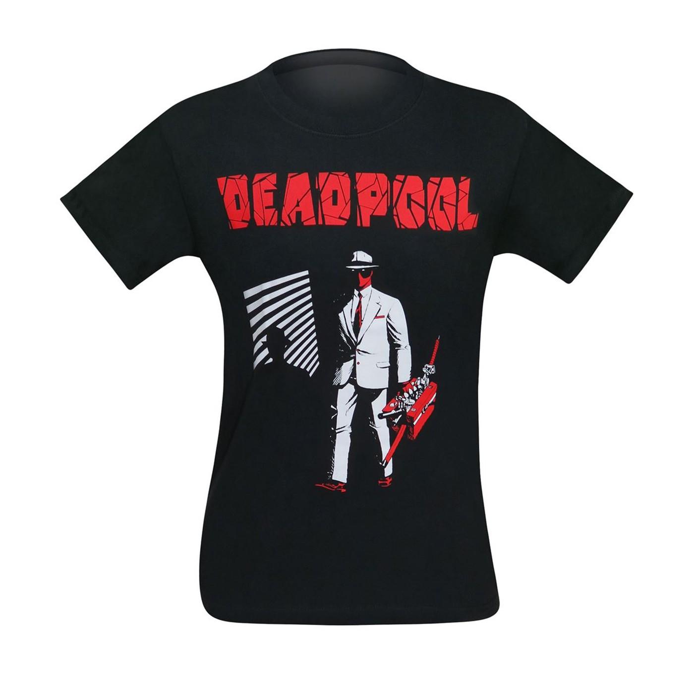 Deadpool Dead Noir Men's T-Shirt