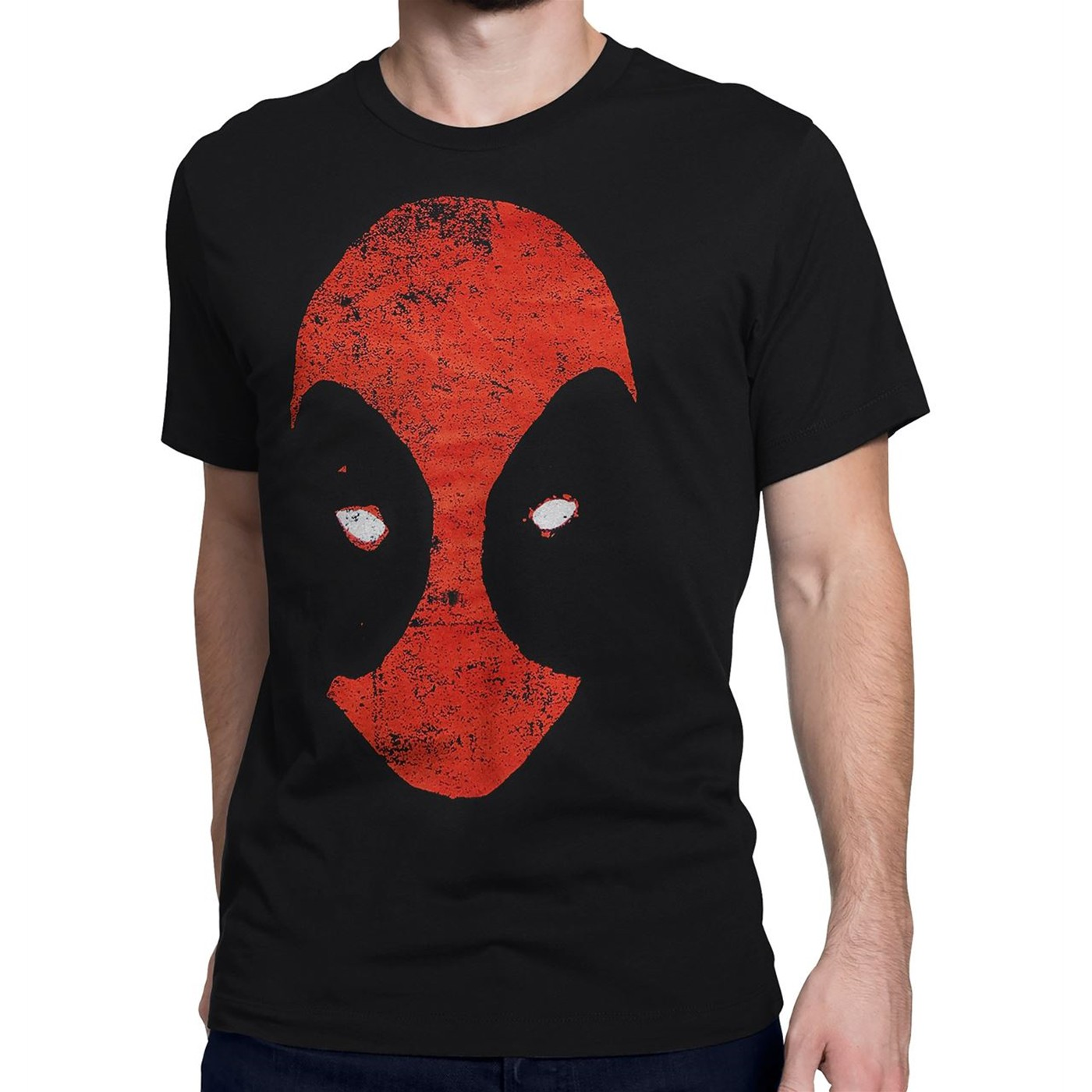 Deadpool Distressed Minimalist Men's T-Shirt