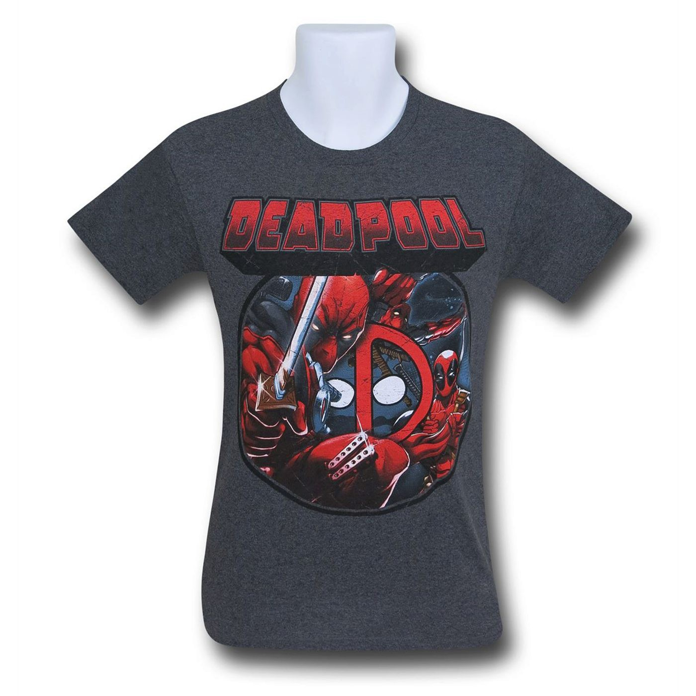 Deadpool Image Circle T-Shirt