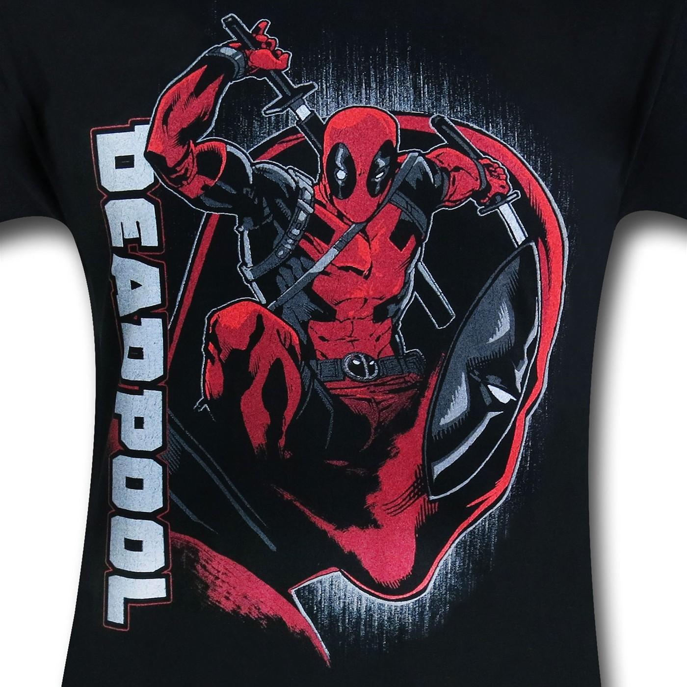 Deadpool On The Brain T-Shirt