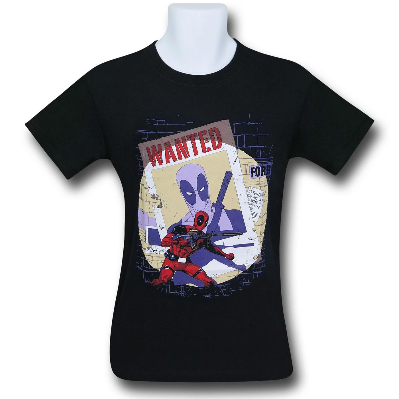 Deadpool Wanted T-Shirt