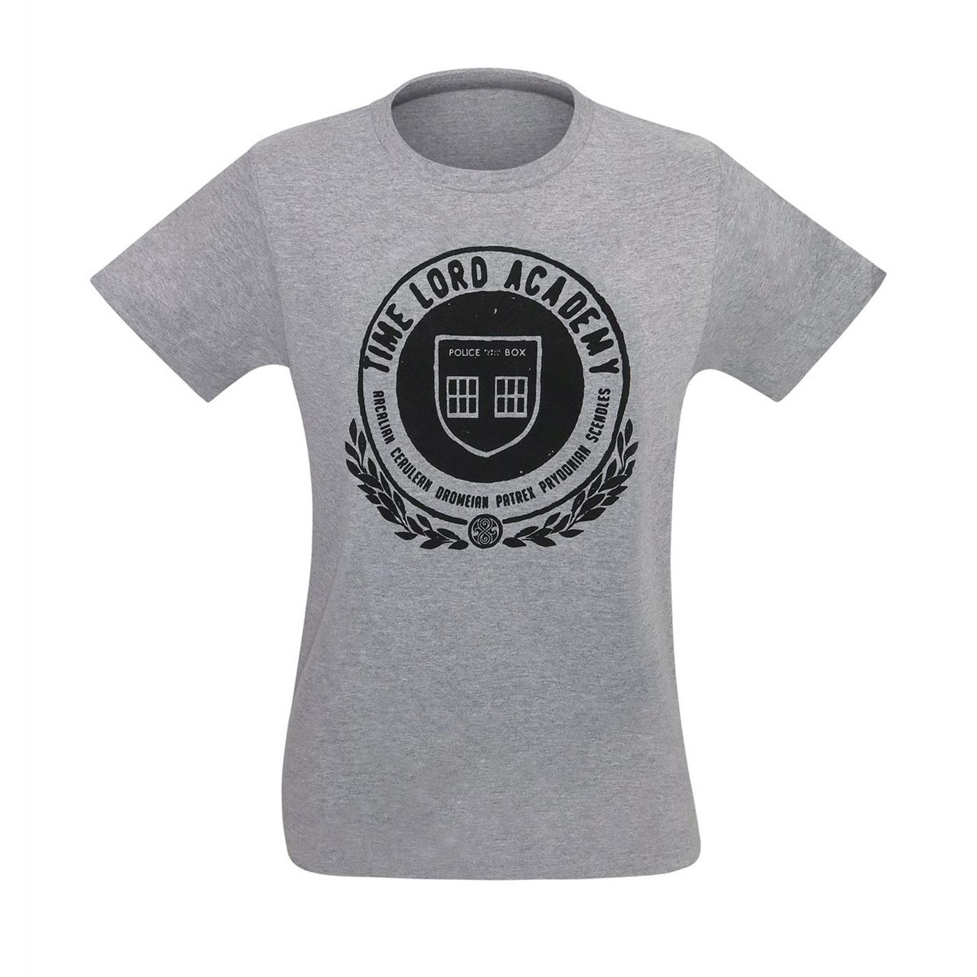 Dr. Who Time Lord Academy Men's T-Shirt