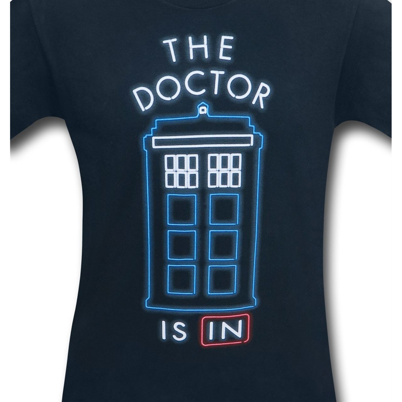 Doctor Who Doctor Is In Men's T-Shirt