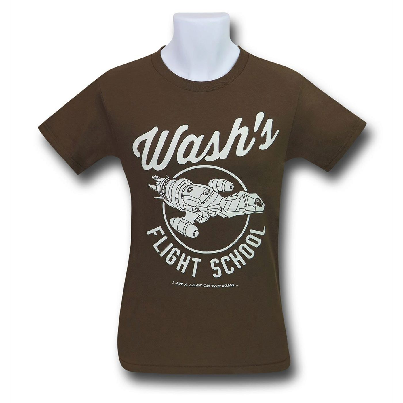 Firefly Wash's Flight School Men's T-Shirt