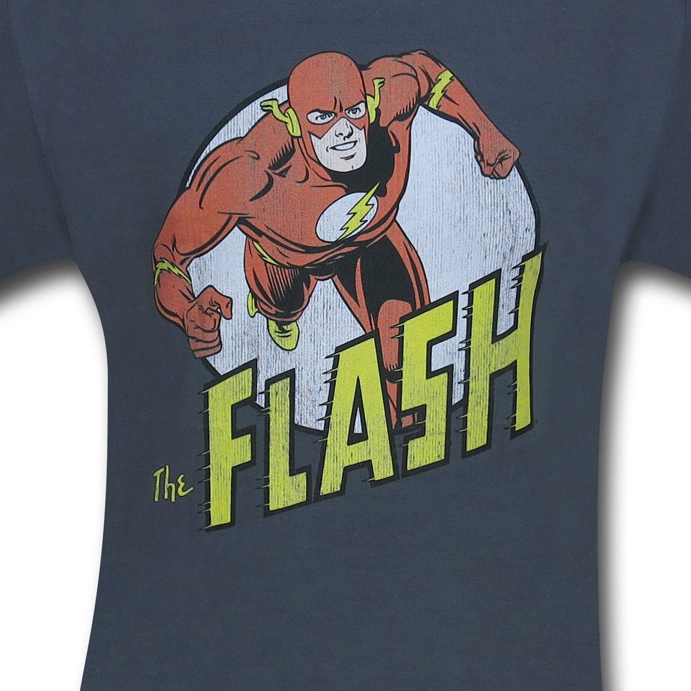 The Flash Distressed Run Circle T-Shirt