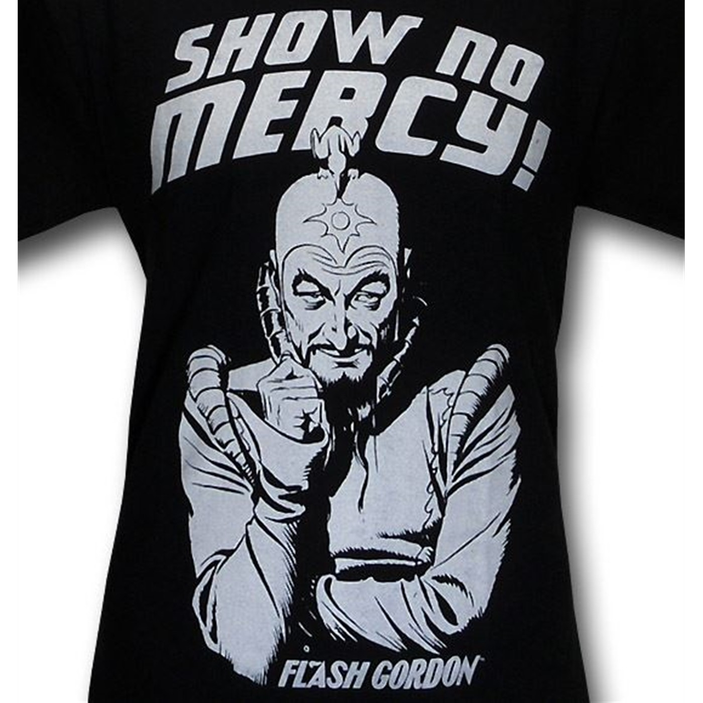 Ming The Merciless Show No Mercy! T-Shirt