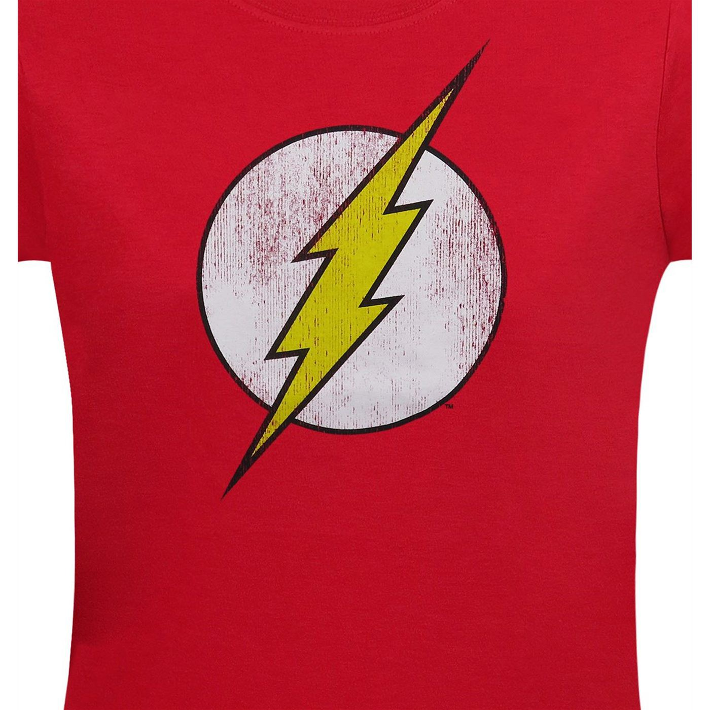The Flash Distressed Symbol Women's T-Shirt