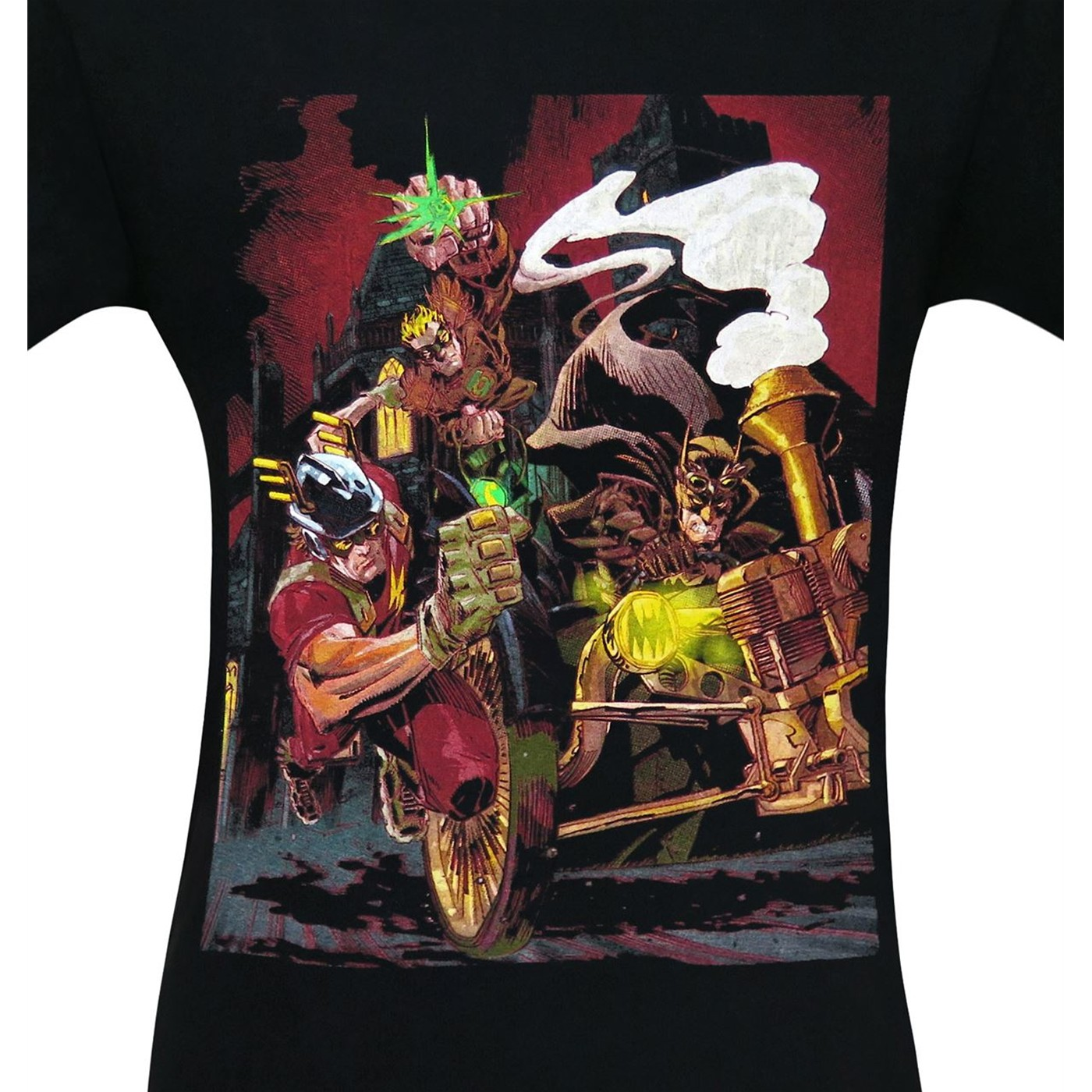 Earth-2 #20 Steampunk Variant Cover Men's T-Shirt