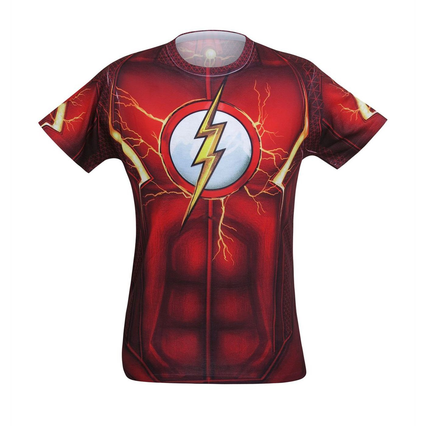 Flash Suit-Up Sublimated Costume T-Shirt