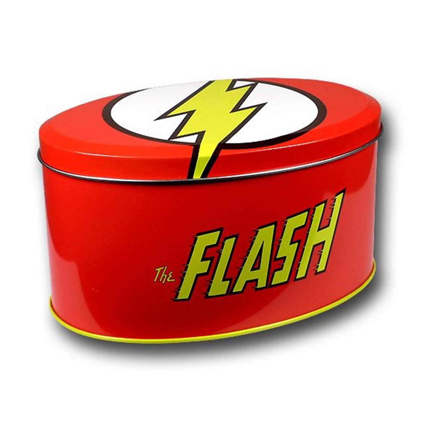 Flash Symbol T-Shirt In A Tin