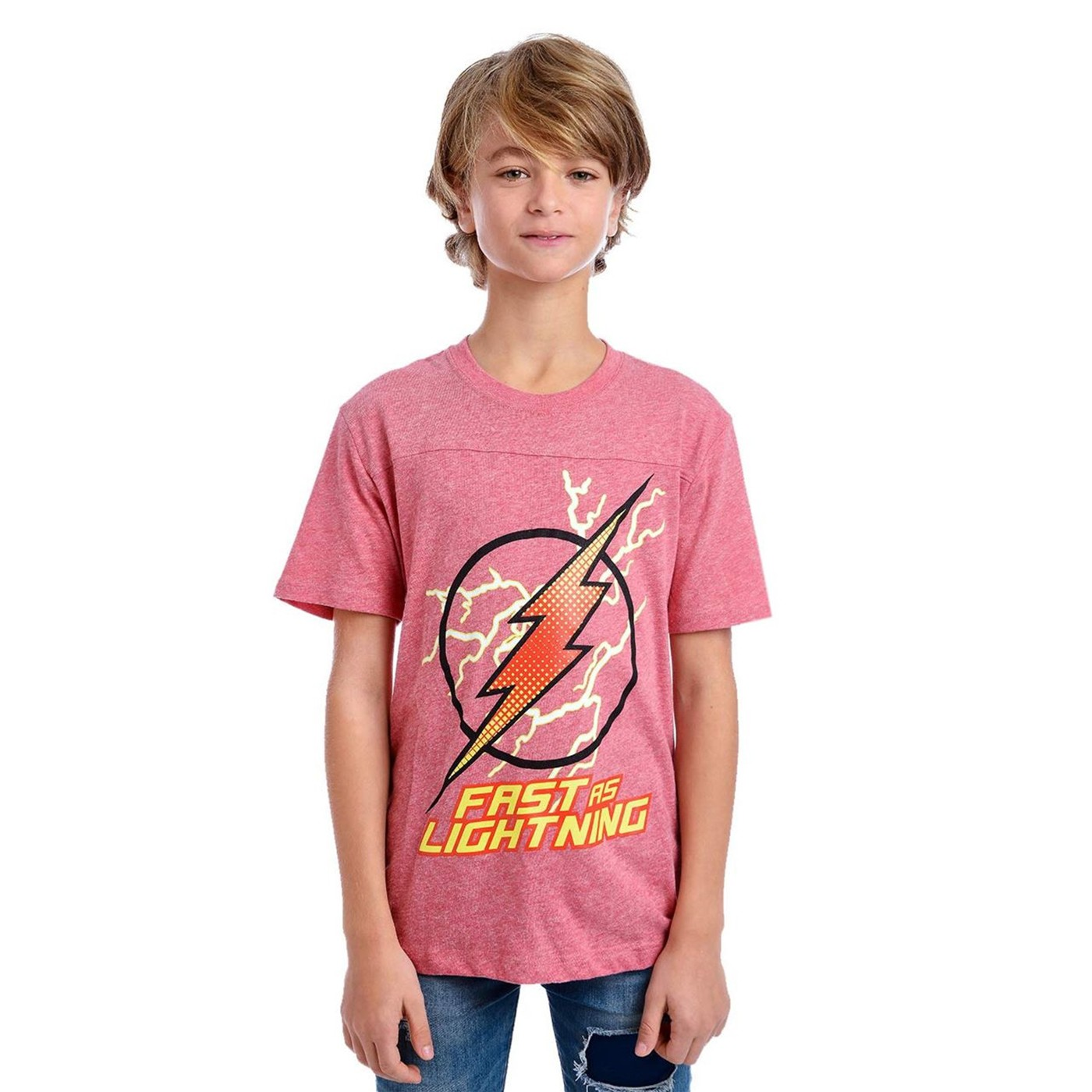 Flash Fast As Lightning Kids T-Shirt