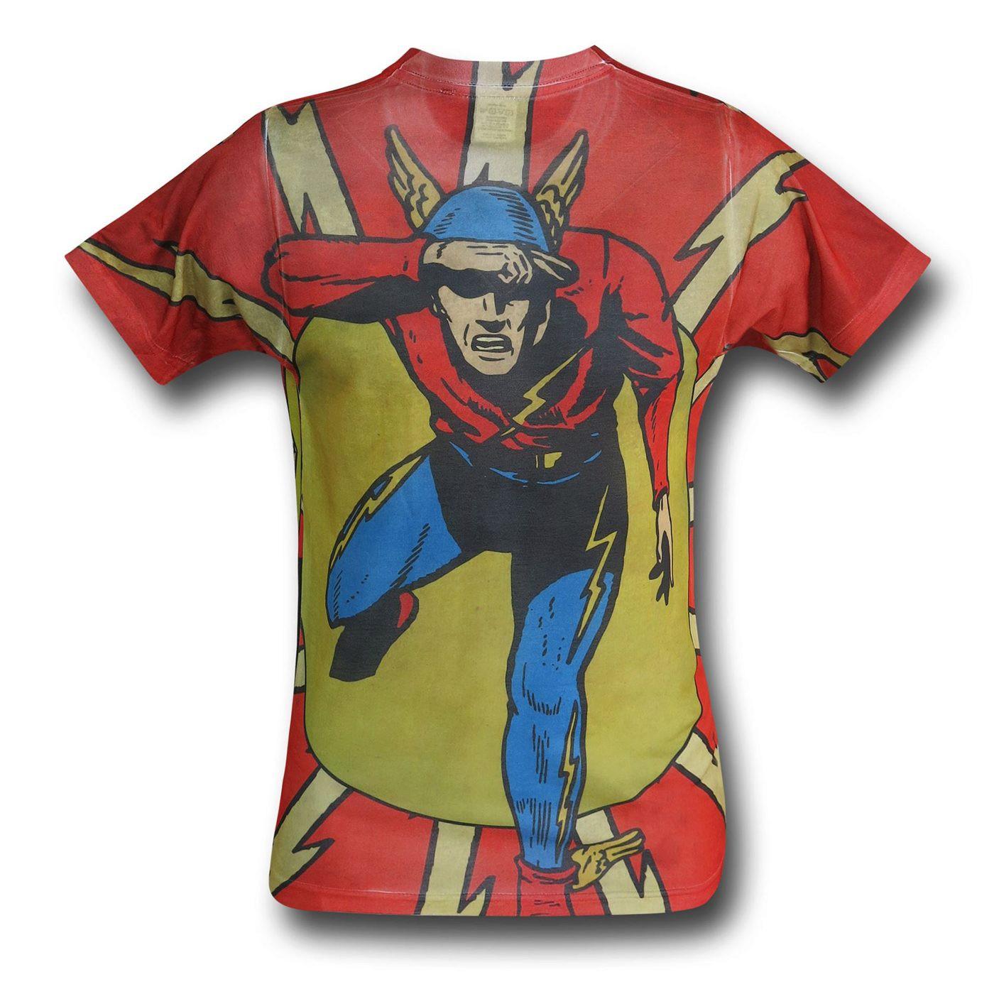 Flash Jay Garrick Sublimated T-Shirt