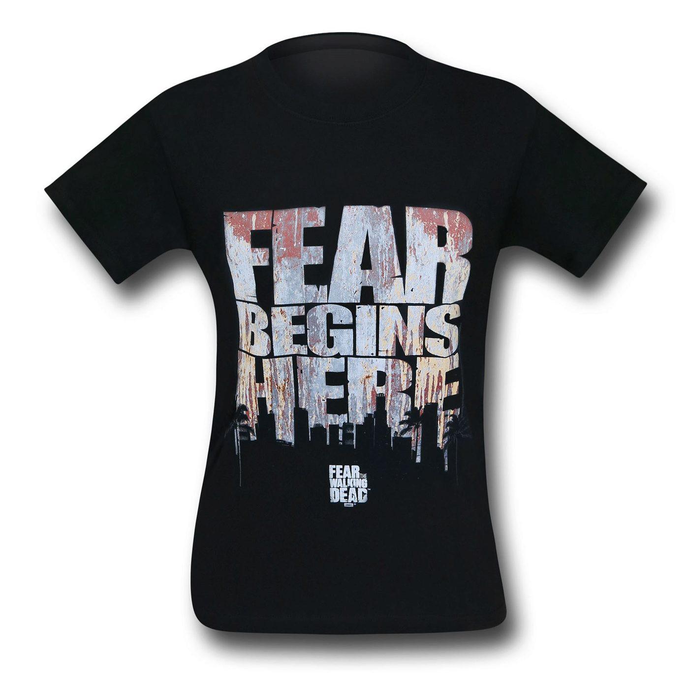 Fear The Walking Dead Fear Begins T-Shirt