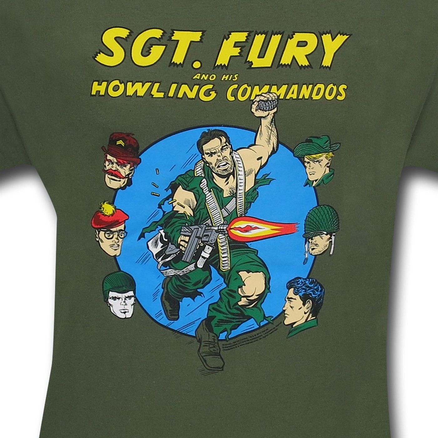 Sgt. Nick Fury Howling Commandos T-Shirt