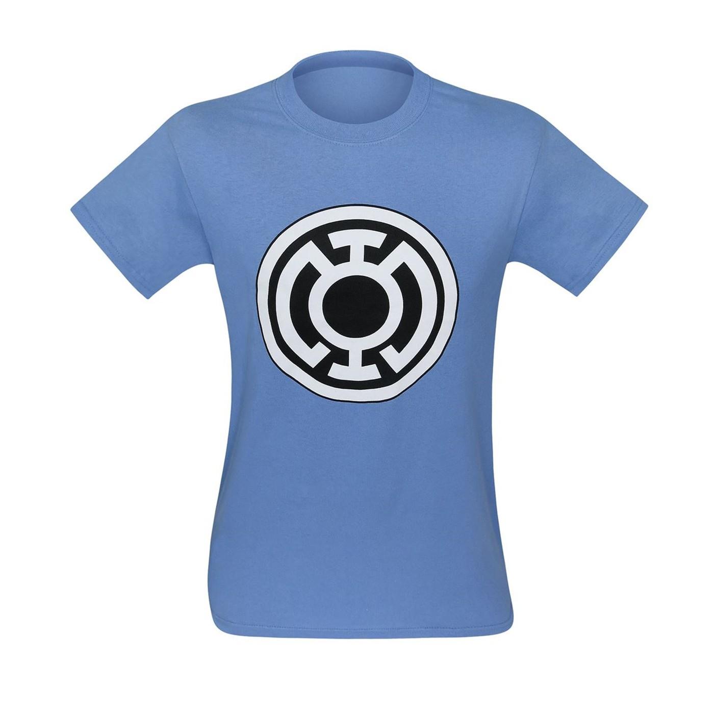 Blue Lantern Big Symbol Blue T-Shirt