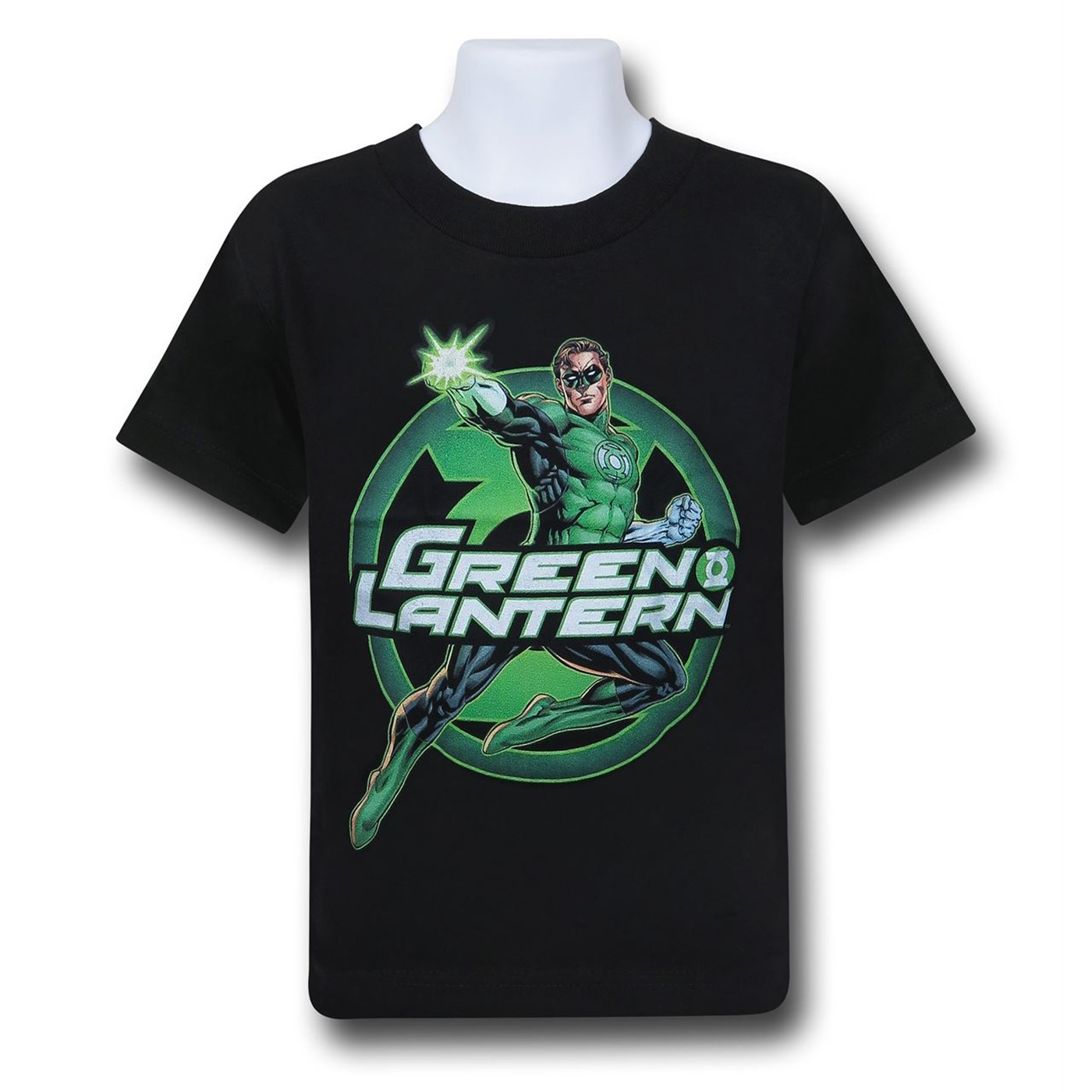 Green Lantern Glow Kids T-Shirt